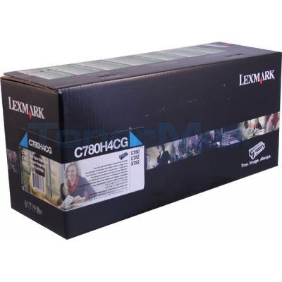 LEXMARK C780 PRINT CARTRIDGE CYAN RP TAA 10K